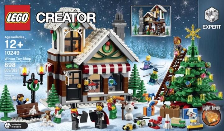 Lego - Magasin de Jouet de Noël