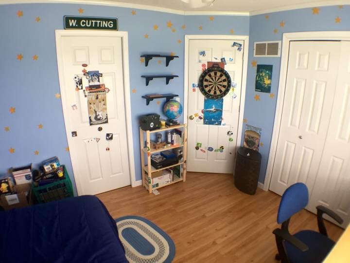 La chambre d'Andy
