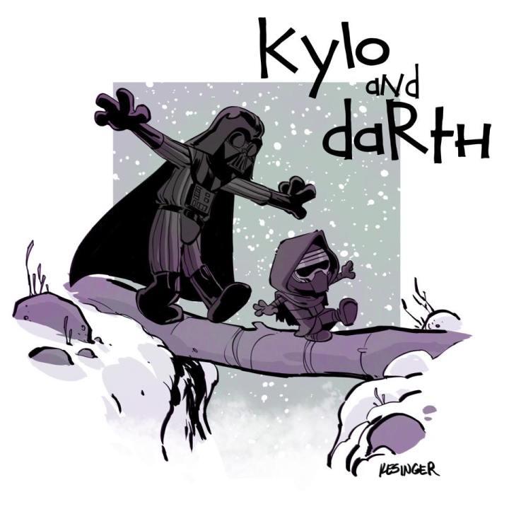 Kylo & Darth