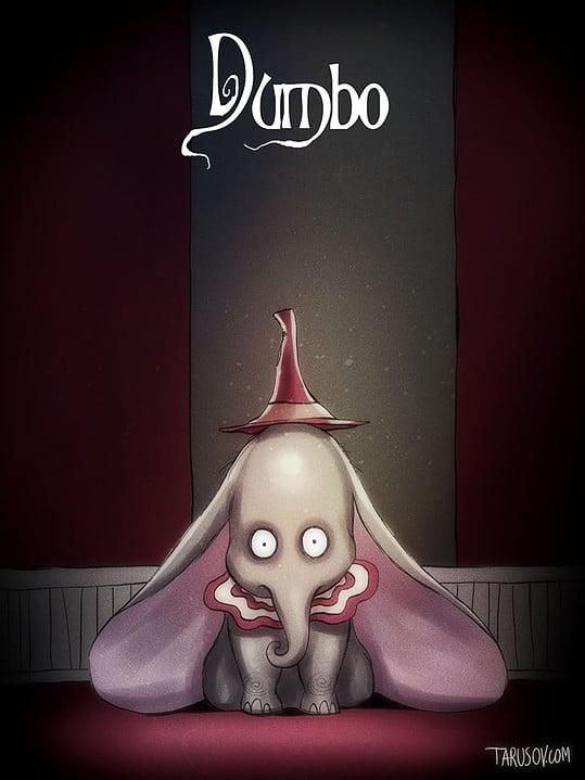 Classiques Disney par Tim Burton (1)