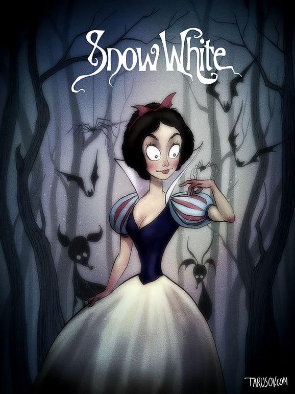Classiques Disney par Tim Burton (10)