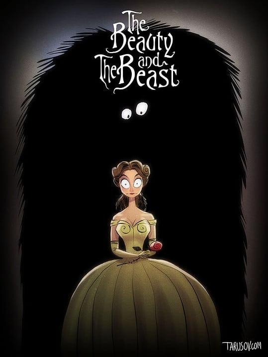 Classiques Disney par Tim Burton (3)
