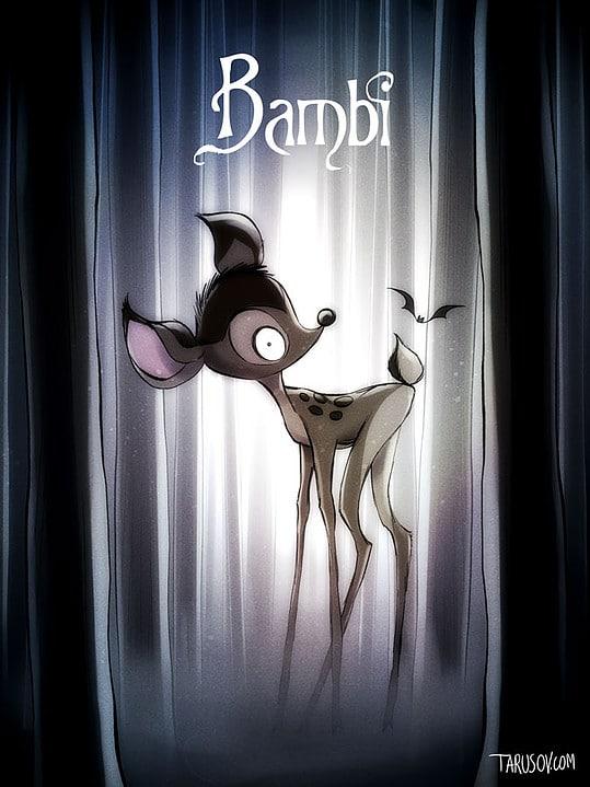 Classiques Disney par Tim Burton (7)