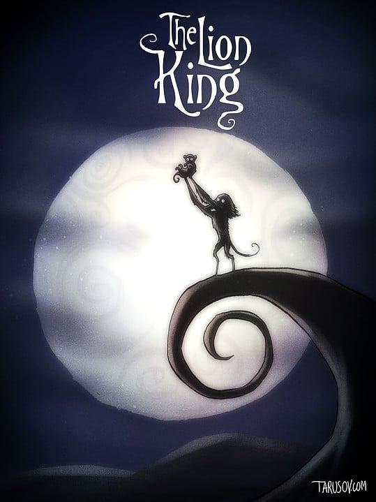 Classiques Disney par Tim Burton (8)