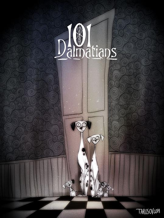 Classiques Disney par Tim Burton (9)
