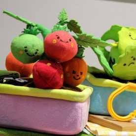 Tomates peluches mignonnes