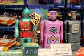 Bons vieux robots mécaniques