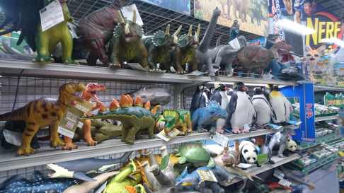 Les inévitables dinosaures