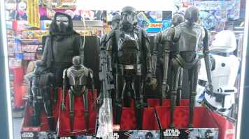 Figurines Star Wars de toutes tailles