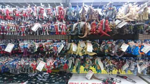 Ultraman, ses variantes et ses monstres