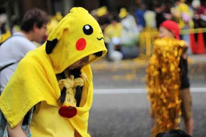 Après la parade Pikachu...