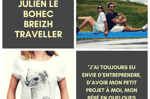 Interview de Julien Le Bohec, Breizh Traveller