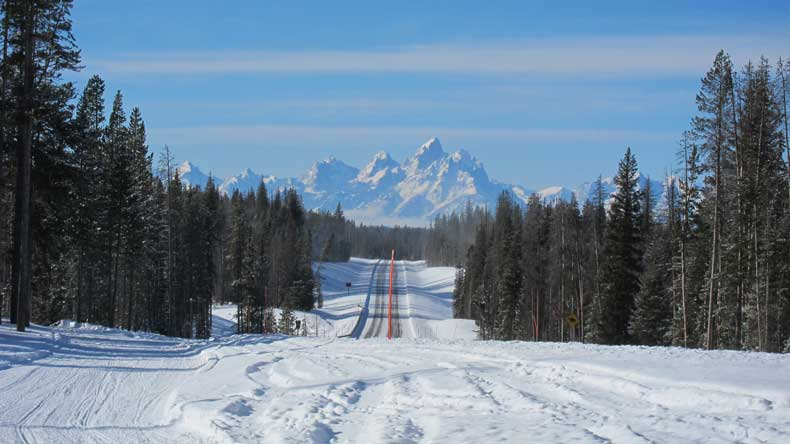 Parenthood and Passports - Winter in Jackson Hole