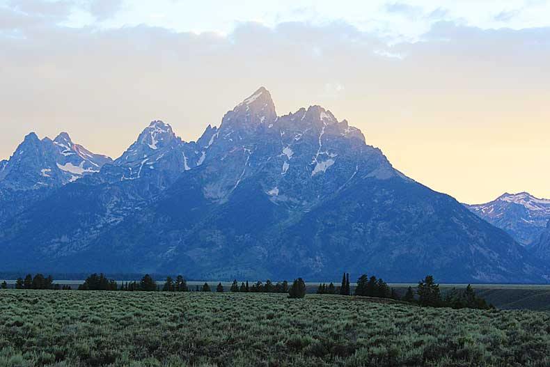 Parenthood and Passports -Grand Tetons