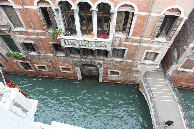 Parenthood and passports -Ruzzini Palace Venice