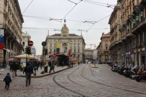 Parenthood and Passports - one day in Milan