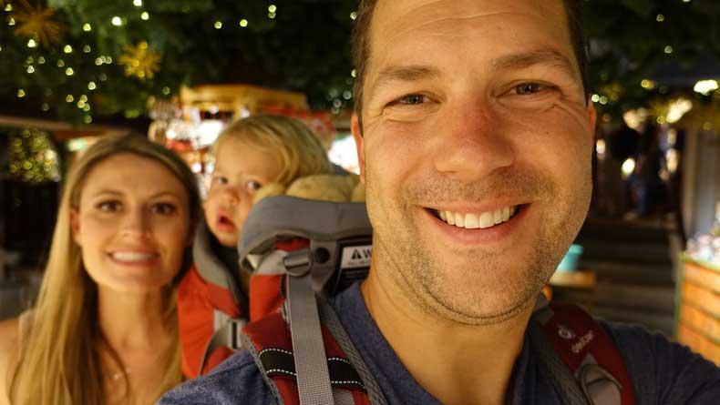 Parenthood and Passports - Rothenburg ob der tauber,.