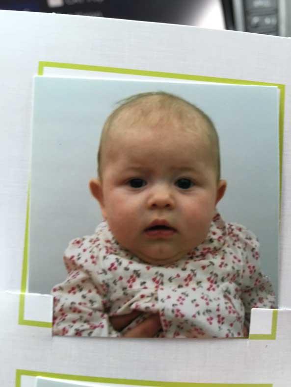 Parenthood and Passports - Baby Passport Phot