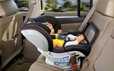 When should you move a child to a convertible car seat?