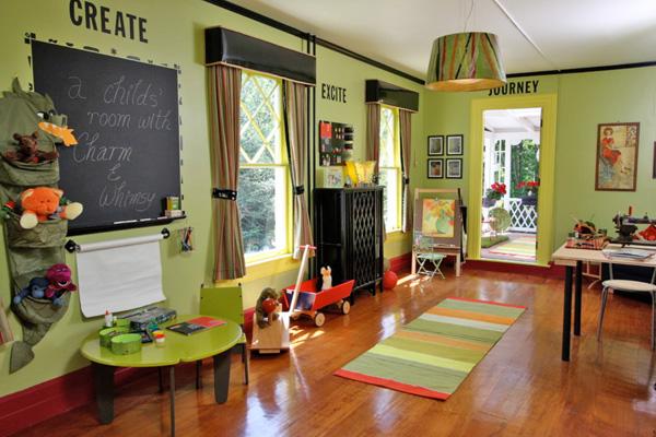 Kid Friendly Family Room Decorating Ideas