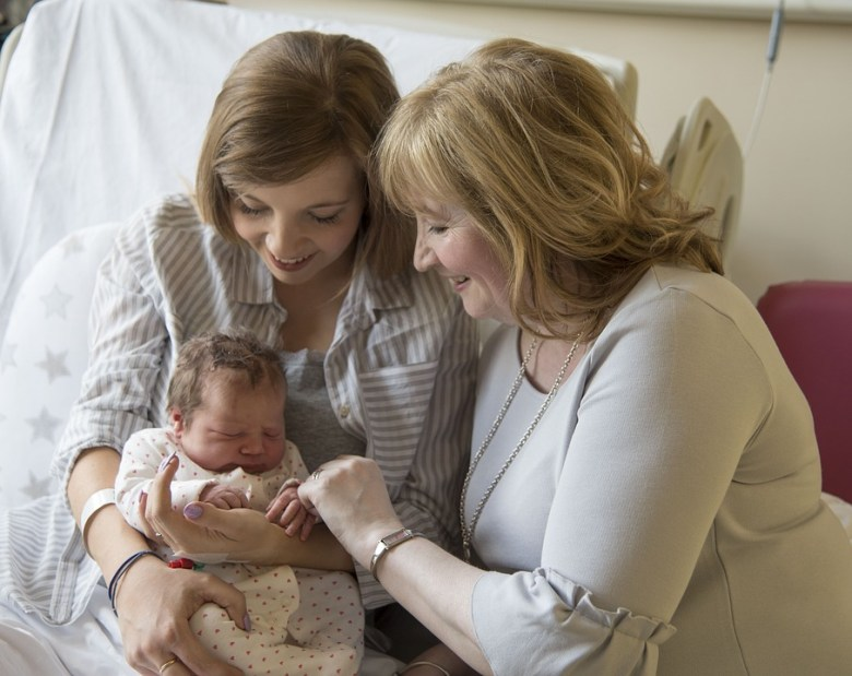 Grandparents and Newborns