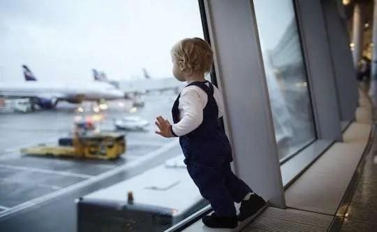 Vliegtuigspotten met Kinderen