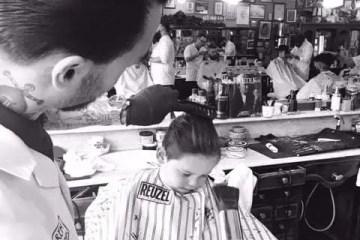 Samen naar de barbier