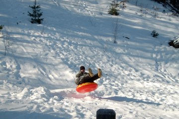 vader voorkomst crash sneeuw