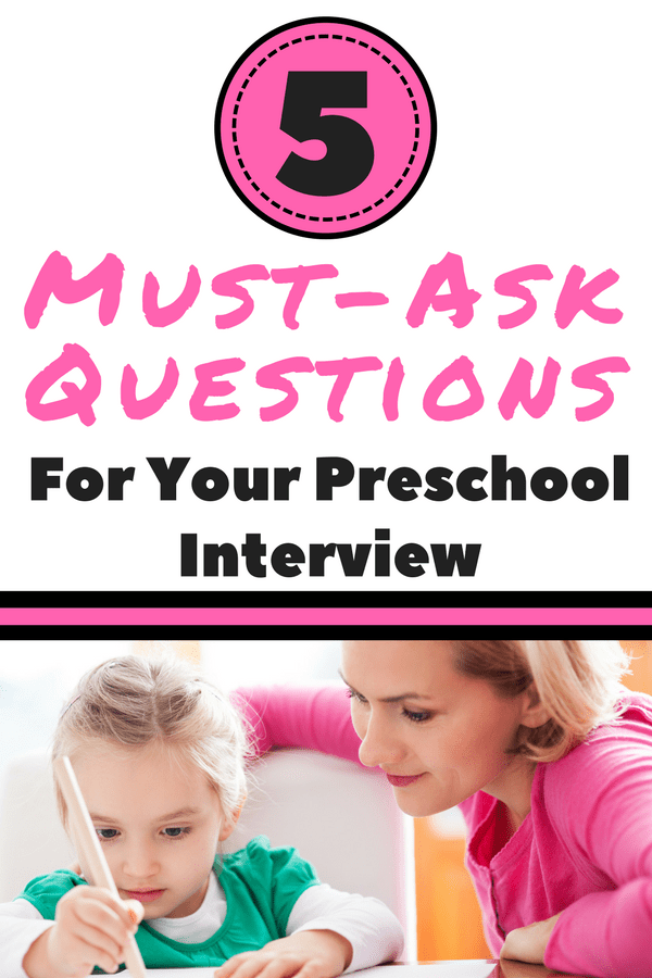 interview questions preschool teacher