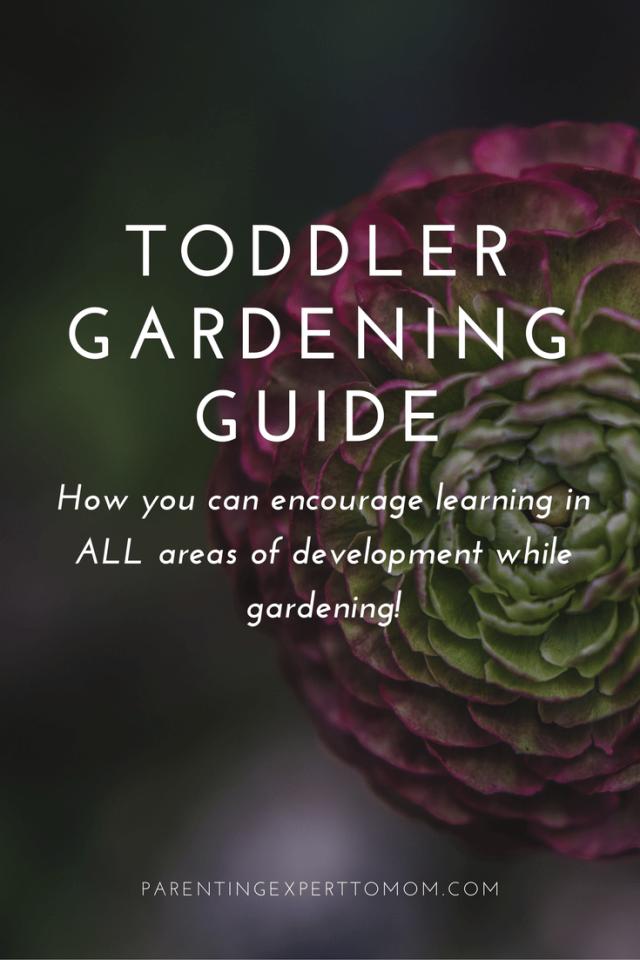 Toddler Gardening Guide