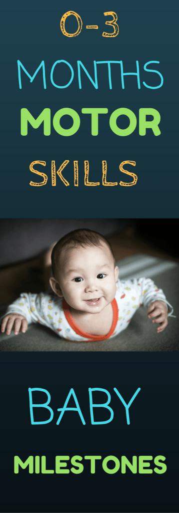 0-3 Months Motor Skills
