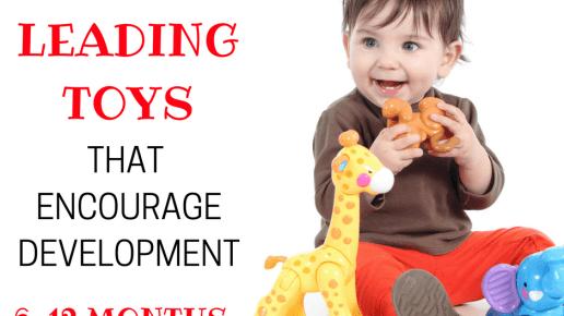 Leading Toys for Encouraging Development 6-12 Months