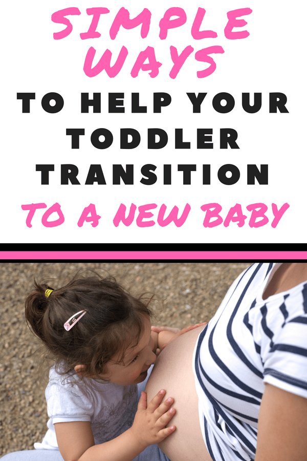 Are you looking for simple ways to help your toddler transition to a new baby? Use these simple tips to help your toddler be prepared for a new baby in their life.