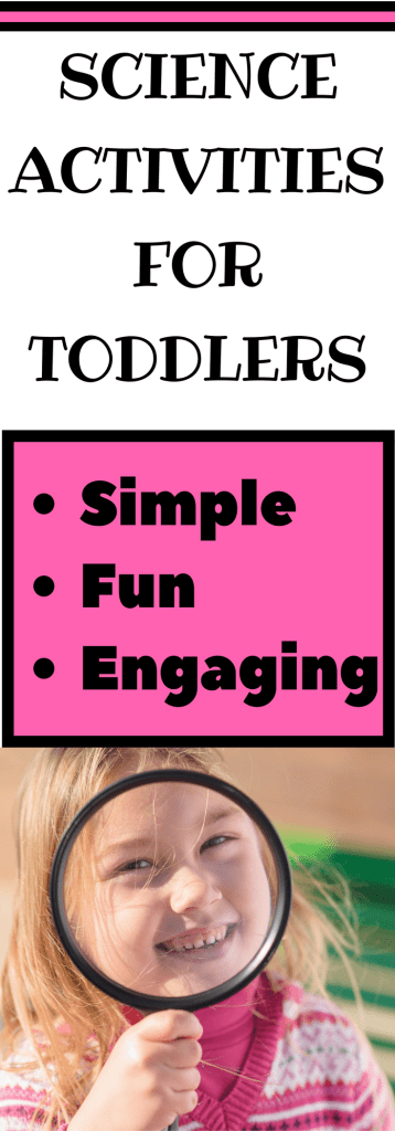 Are you looking for easy toddler activities? Check out these fun STEAM activities for your toddler. Encourage early literacy skills, language skills,fine motor skills, and cognitive skills while completing simple science projects. These indoor activities are for children 2 years old and up.