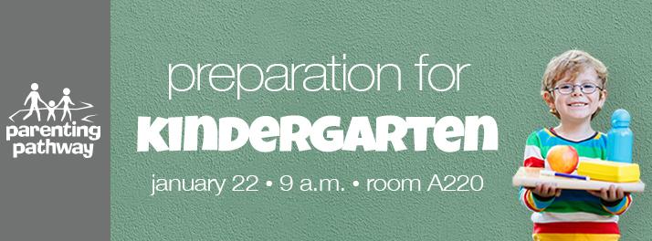 Preparing for Kindergarten Stonebriar Community Church Parenting Pathway Frisco Texas