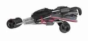delta stroller when fold