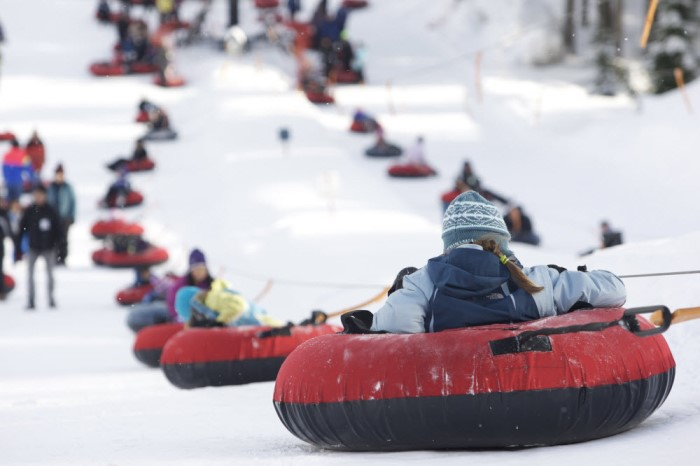 Best Places To Go Sledding And Tubing