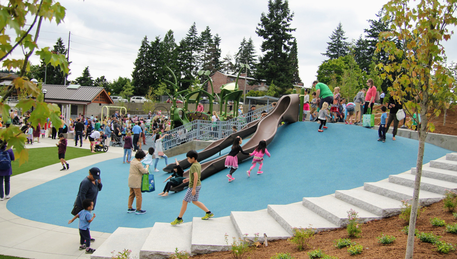 Epic Thrilling and Inclusive New Inspiration Playground