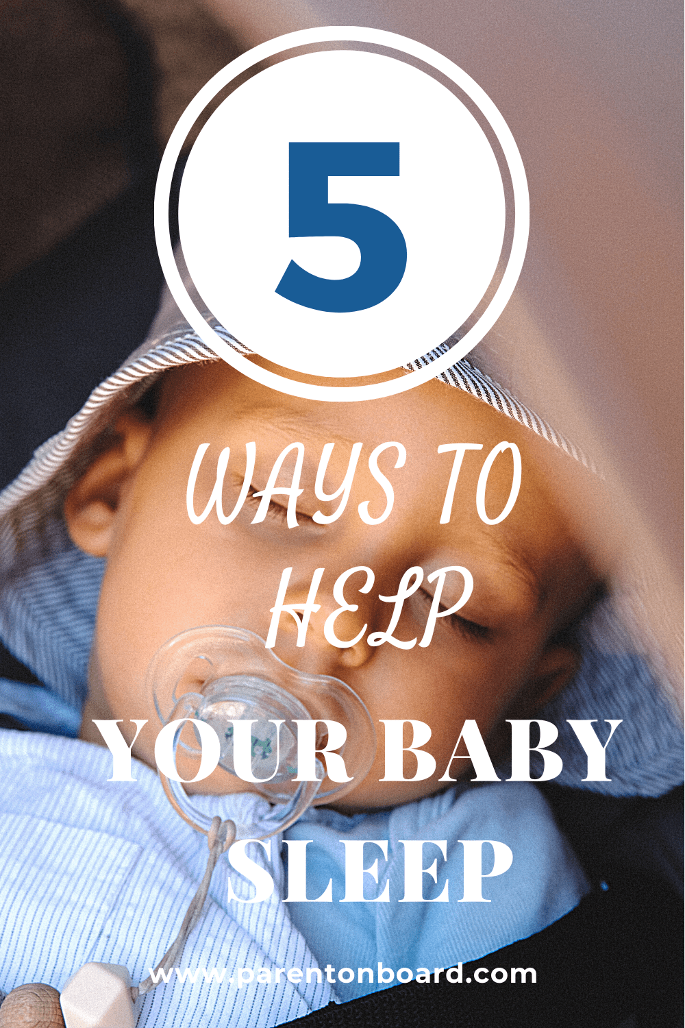 5 Simple Ways to Solve Baby Sleep Problems