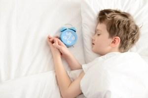 Enfant se réveille