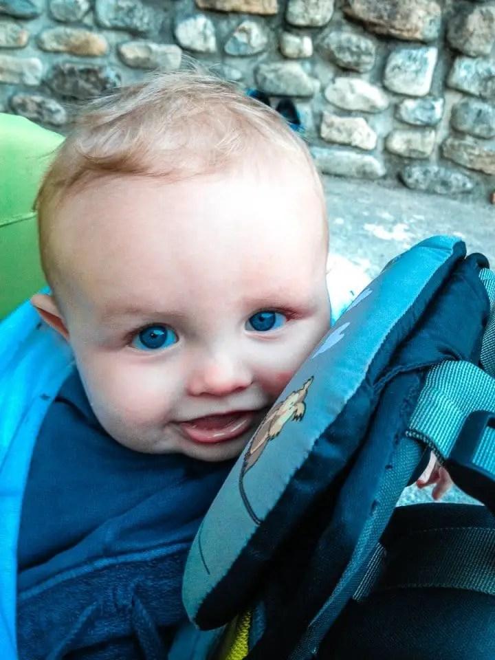 visiter ardeche avec un bébé