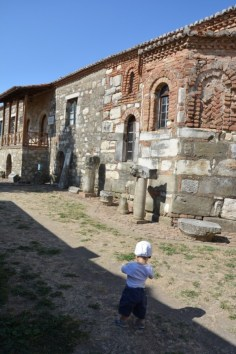 ruines d'Appolonia en Albanie