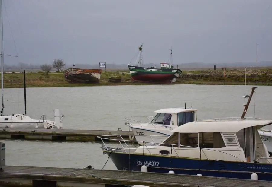 Baie de sommes port du Crotoy