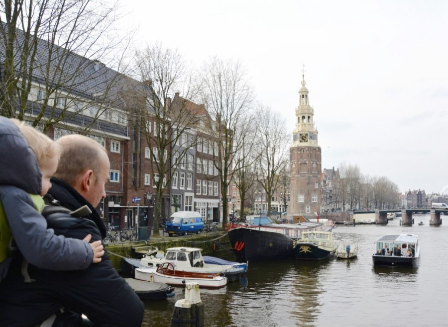 visiter Amsterdam avec bébé