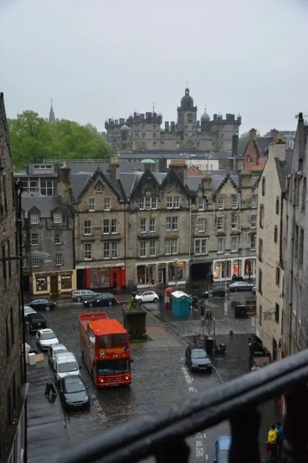 notre itinéraire en Ecosse en famille Edinburgh.
