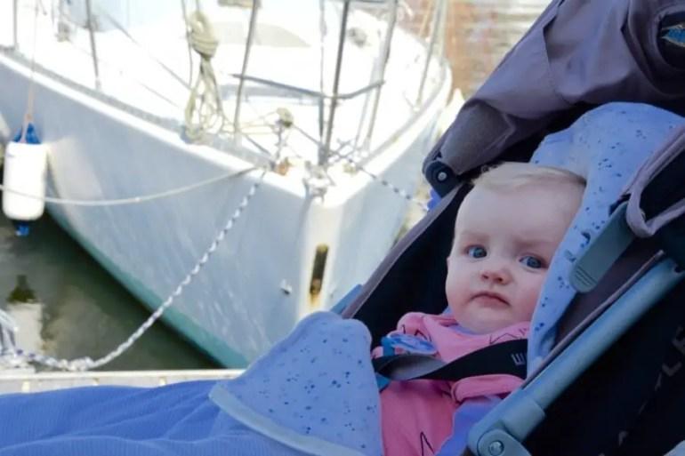 Visiter Honfleur avec bébé