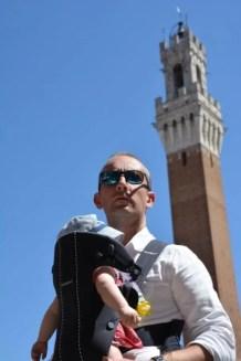 Sienne, Italie, toscane, voyage et enfant, voyager avec bébé