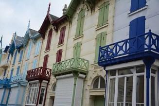 Côte d'Opale, maisons colorées Wimereux