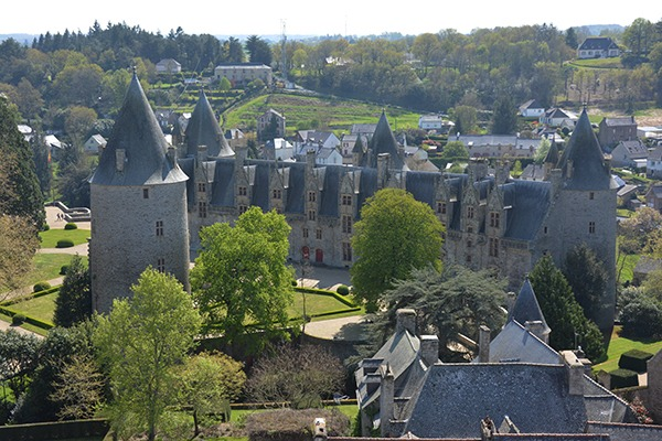 chateau de josselin - broceliande