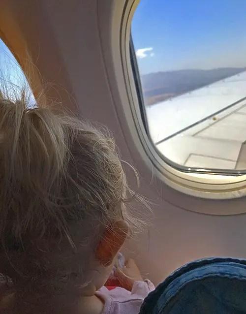 peur de l'avion passer en zero déchet, famille zero dechet